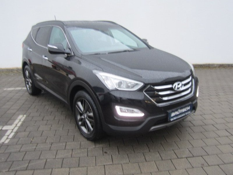 hyundai santa fe 2 2 crdi premium 4wd navi leder xenon. Black Bedroom Furniture Sets. Home Design Ideas