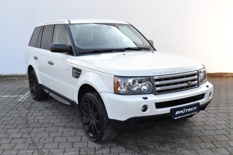 land rover range rover sport v8 td hse navi xenon. Black Bedroom Furniture Sets. Home Design Ideas
