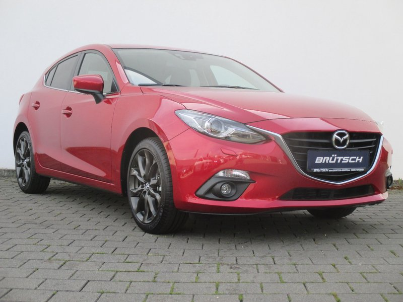 mazda 3 s skyactiv g 165 6gs al nakama nav tageszulassung. Black Bedroom Furniture Sets. Home Design Ideas