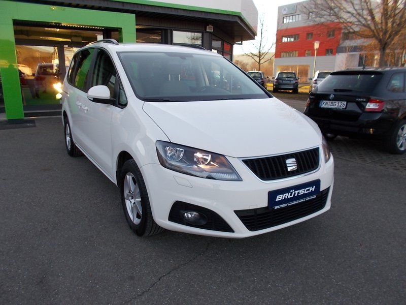 seat alhambra 2 0 tdi style klima alu ahk gebraucht. Black Bedroom Furniture Sets. Home Design Ideas