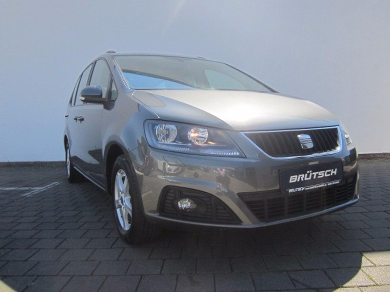 seat alhambra 2 0 tdi dsg reference pdc 7 sitzer. Black Bedroom Furniture Sets. Home Design Ideas