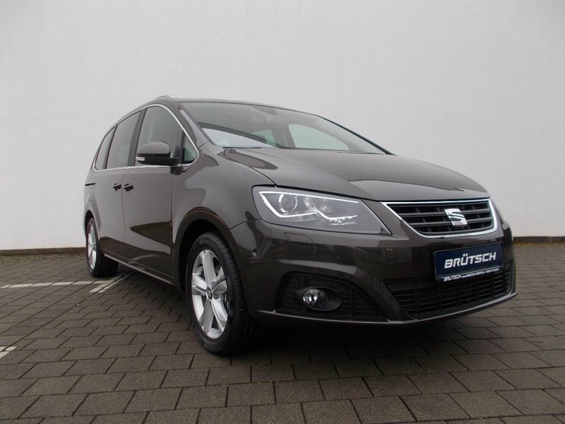 seat alhambra style plus 2 0 tdi dsg 7 sitzer ahk. Black Bedroom Furniture Sets. Home Design Ideas