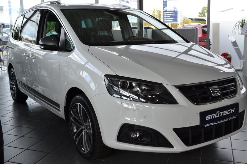 seat alhambra fr line 2 0 tdi dsg 7 sitzer ahk dcc. Black Bedroom Furniture Sets. Home Design Ideas