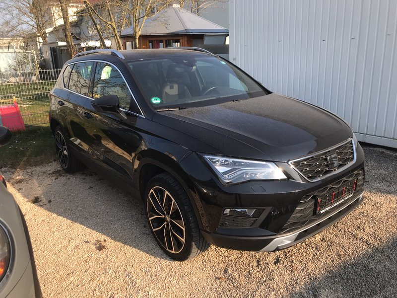 seat ateca xcellence 2 0 tdi 4drive dsg standheizung. Black Bedroom Furniture Sets. Home Design Ideas