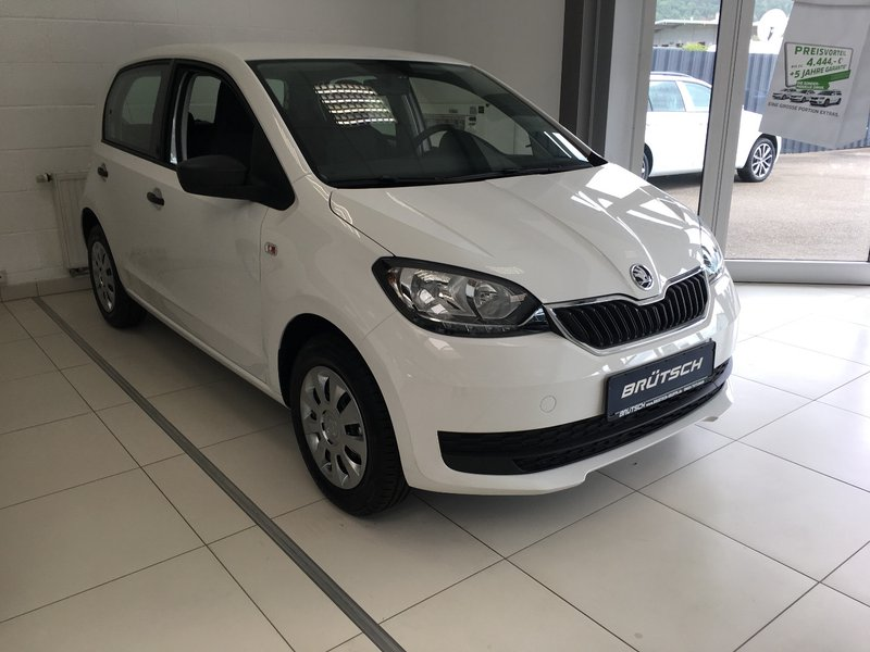 skoda citigo 1 0 mpi cool edition 5 t rer klima radio. Black Bedroom Furniture Sets. Home Design Ideas