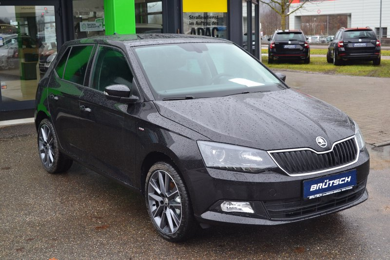 skoda fabia drive 1 0 tsi dsg infotainment licht sicht. Black Bedroom Furniture Sets. Home Design Ideas