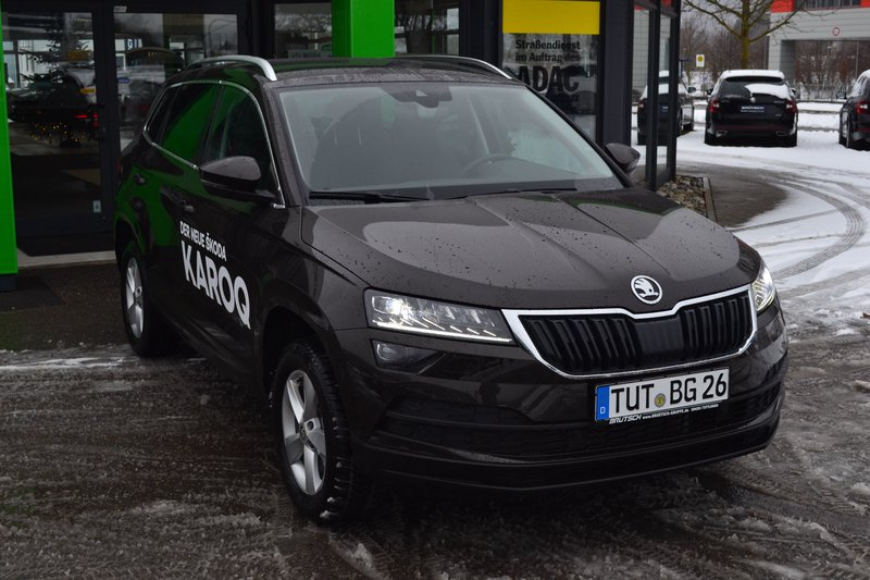 skoda karoq style 1 5 tsi act 7 gang dsg acc amundsen. Black Bedroom Furniture Sets. Home Design Ideas