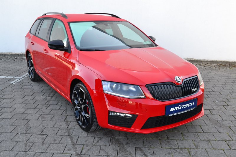 skoda octavia combi octavia iii 2 0 tsi combi rs 230 green tec leder navi gebraucht kaufen in. Black Bedroom Furniture Sets. Home Design Ideas
