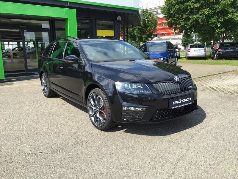 skoda octavia combi octavia iii combi rs 2 0 tdi dsg 4x4 challenge xl ahk tageszulassung. Black Bedroom Furniture Sets. Home Design Ideas