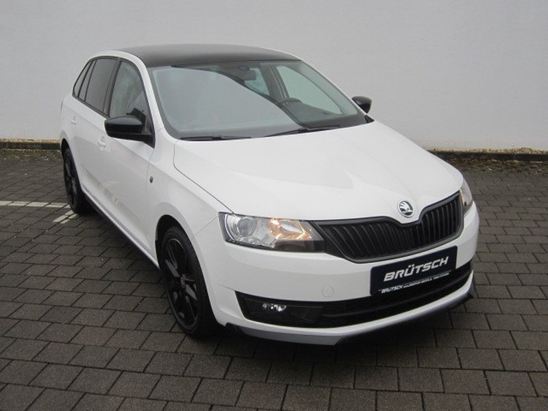 skoda rapid spaceback 1 6 tdi monte carlo navi xenon. Black Bedroom Furniture Sets. Home Design Ideas
