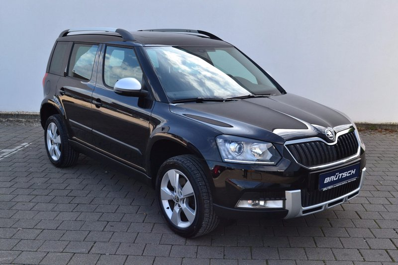 skoda yeti 2 0 tdi dsg elegance outdoor 4x4 standheizung. Black Bedroom Furniture Sets. Home Design Ideas