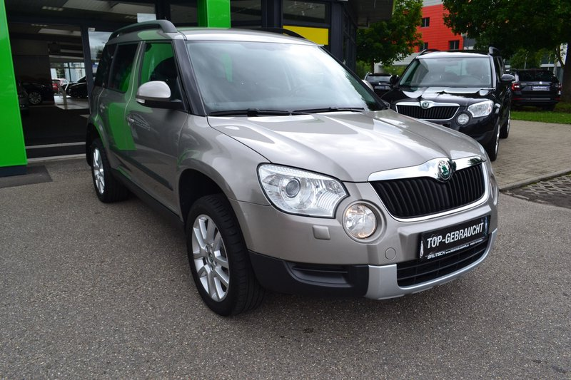 skoda yeti 2 0 tdi ambition plus edition 4x4 dsg ahk. Black Bedroom Furniture Sets. Home Design Ideas