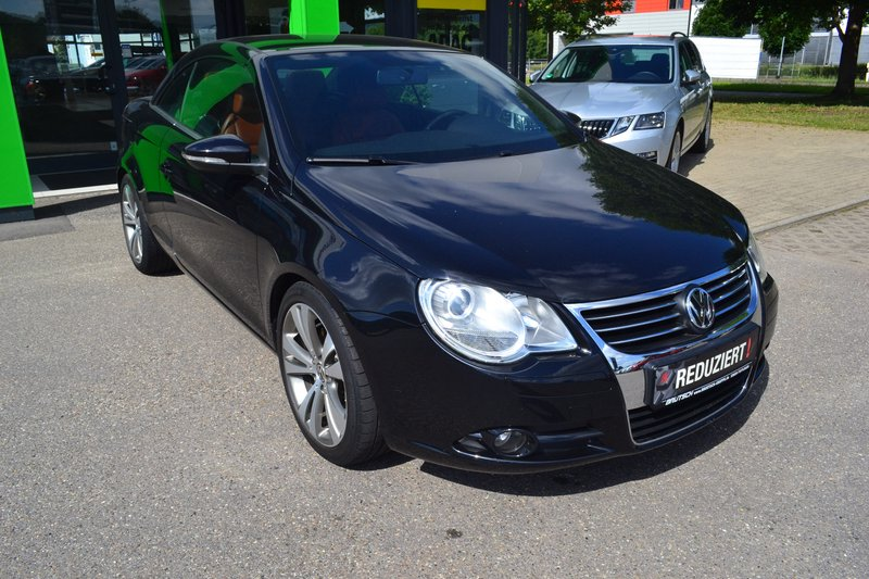 volkswagen eos 1 4 tsi edition 2010 leder standheizung. Black Bedroom Furniture Sets. Home Design Ideas