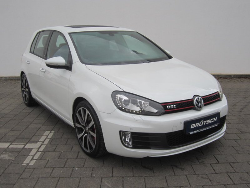 volkswagen golf vi gti 2 0 tsi adidas dsg xenon. Black Bedroom Furniture Sets. Home Design Ideas